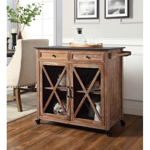 Oakridge Two Kitchen Cart EZ Assembly - N/A