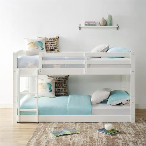 Avenue Greene Nola Twin Floor Bunk Bed