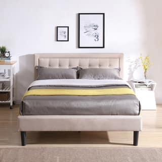 Buy Platform Bed Queen Online At Overstock