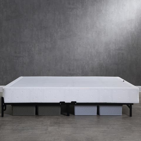Classic Brands Instant Folding Mattress Foundation High Profile 7.5-Inch Box Spring Replacement