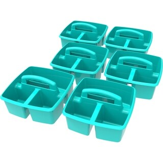 Storex Small Caddy / Teal (6 units/pack)