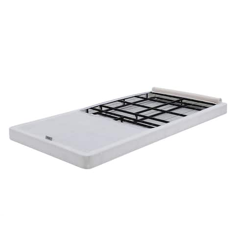 Classic Brands Instant Folding Mattress Foundation Low Profile 4-Inch Box Spring Replacement