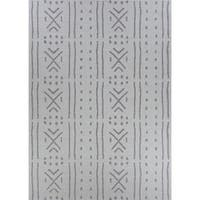 "Jagher Nairobi Khaki Indoor/Outdoor Area Rug - 3'9"" x 5'5"""
