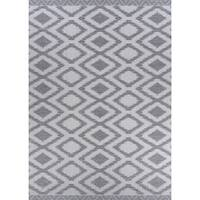 "Jagher Accra Khaki Indoor/Outdoor Area Rug - 3'9"" x 5'5"""