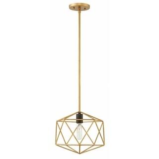 Hinkley Astrid 1-Light Pendant in Deluxe Gold