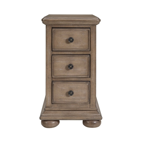 Natural Chairside Chest