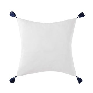 """Oceanfront Resort Reef Point 20"""" Square Decorative Pillow"""