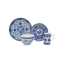 222 Fifth Blue Dynasty 16-Piece Dinnerware Set