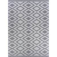 "Jagher Accra Khaki Indoor/Outdoor Area Rug - 7'6"" x 10'9"""