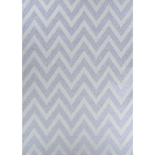 "Woodland Steppe Gray Indoor/Outdoor Area Rug - 3'9"" x 5'6"""