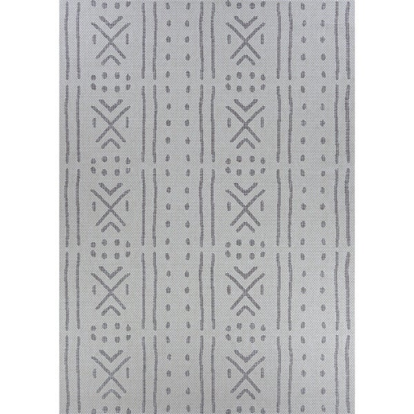 Jagher Nairobi Khaki Indoor/Outdoor Area Rug - 2' x 3'7""