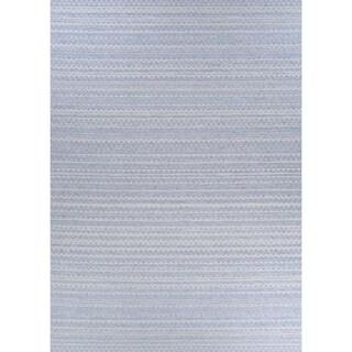 Woodland Stream Gray Indoor/Outdoor Runner Rug - 2'6 x 7'6