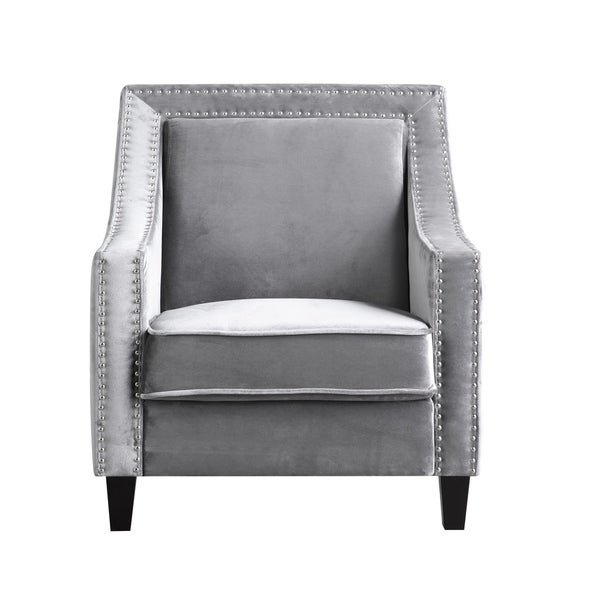 Chic Home Kameron Velvet Upholstered Accent Club Chair. Opens flyout.