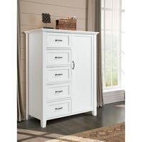 Avon 5 Drawer 1 Door Armoire