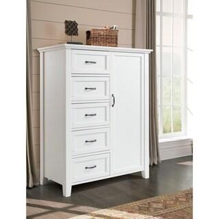 Avon 5 Drawer 1 Door Armoire