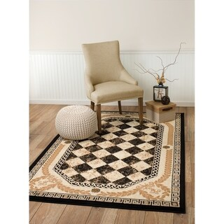 Summit Black Diamond Area Rug - 5' x 7'2""