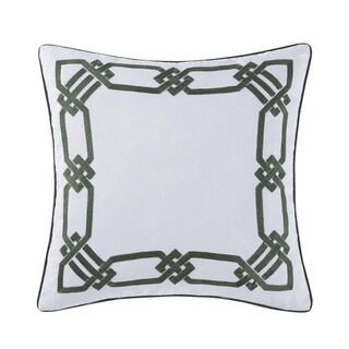 """Oceanfront Resort Sunwashed Isle 20"""" Square Decorative Pillow"""