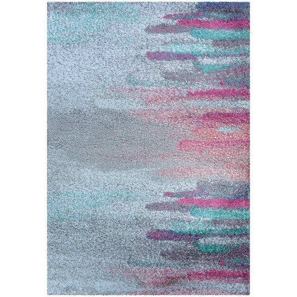 Shop Dream House Rugs Dulcet Sunrise Teal/Pink Area Rug