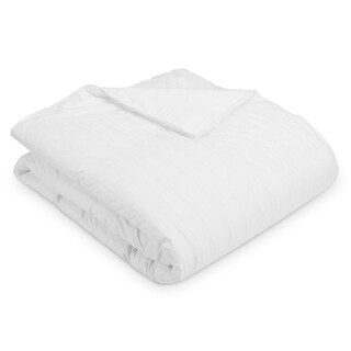 Luxury 400 Thread Count All-season White Goose Down Comforter