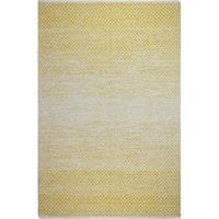 Fab Habitat Indoor Cotton Rug - Aurora - Gold (3' x 5')