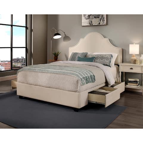 Republic Design House Steel-Core Portman Upholstered Storage Bed