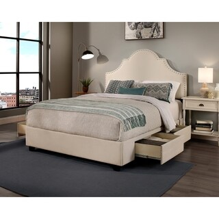 Republic Design House Steel-Core Portman Upholstered Storage Bed