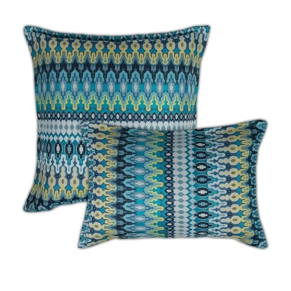 Sherry Kline Aurora Blue Combo Decorative Pillow