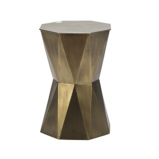 Small Geometric Accent Table