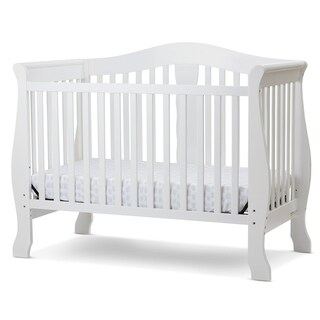 Avalon 4 in I Convertible Crib in White