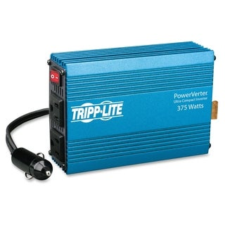 Tripp Lite Compact Car Portable Inverter 375W 12V DC to 120V AC 2 Out
