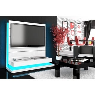 PANORAMA LUX Entertainment Center - White