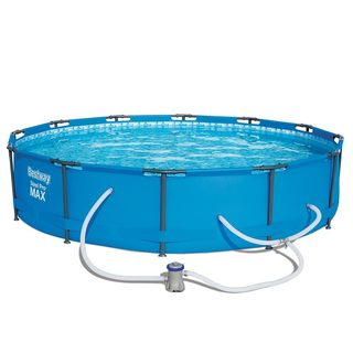 Bestway Steel Pro Max Swimming Pool Set with 330 GPH Filter Pump, 12' x 30""