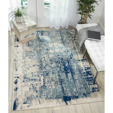Nourison Maxell MAE16 Distressed Area Rug