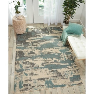 Nourison LID03 Abstract Area Rug
