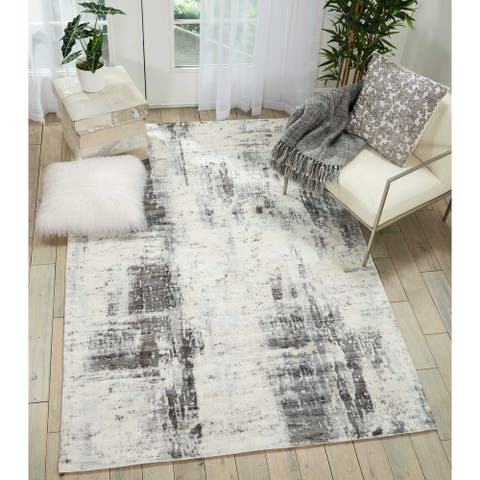 kathy ireland Vintage Abstract KI372 Area Rug