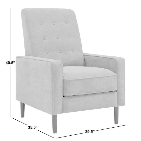 Tremendous Shop Prolounger Mid Century Modern Sunrise Red Linen Push Uwap Interior Chair Design Uwaporg