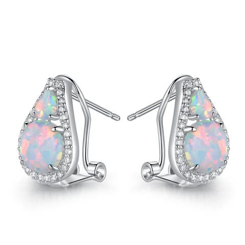 0dcda74bf Opal, Gemstone Earrings | Find Great Jewelry Deals Shopping at Overstock