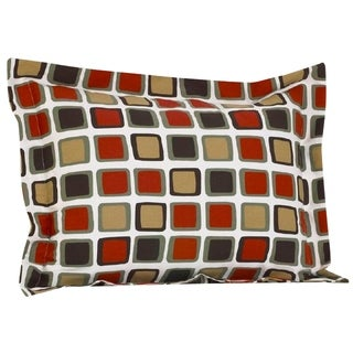 Cotton Tale Houndstooth Multicolored Geometric Pillow Sham