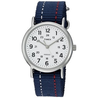 Timex Weekender Analog Watch Blue/Red/White - N/A