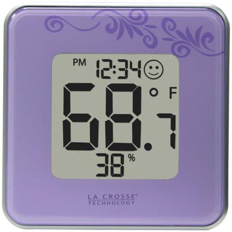 La Crosse Technology 302-604P Indoor Temperature & Humidity Station