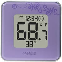 La Crosse Technology 302-604P Indoor Temperature & Humidity Station