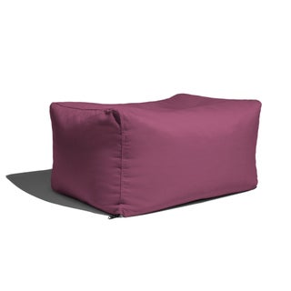 Jaxx Sunbrella Patio Outdoor Ottoman (Option: Iris)