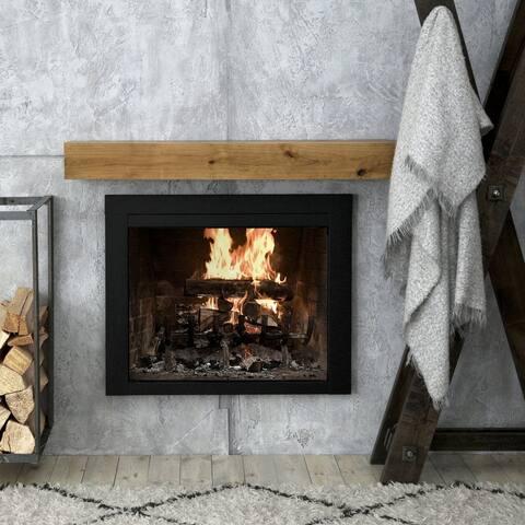 Modern Farmhouse Fireplace Mantel Shelf