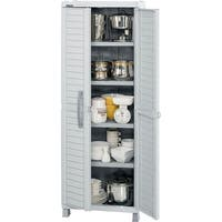 Rimax Light Grey Large Storage Cabinet