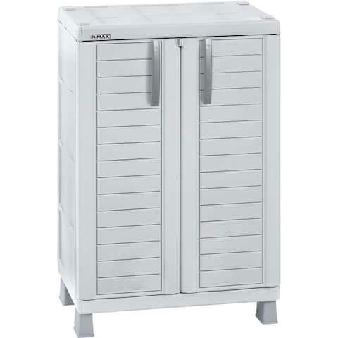 Rimax Light Grey Medium Storage Cabinet