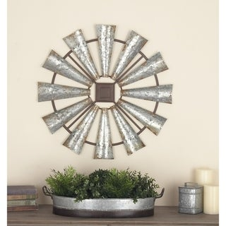 Link to The Gray Barn Jartop Metal 30-inch x 30-inch Wall Decor Similar Items in Accent Pieces