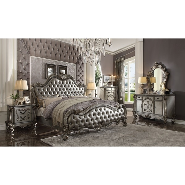 Acme Versailles Dresser, Antique Platinum by Acme
