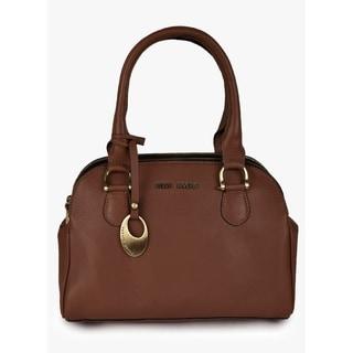 Handmade Phive Rivers Women's Leather Tan Handbag  (Italy) - M