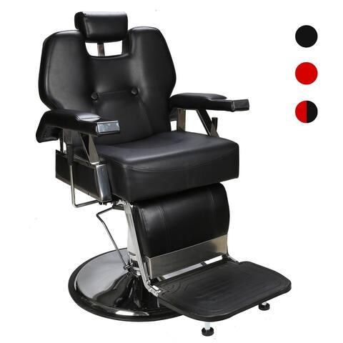 BarberPub All Purpose Hydraulic Recline Barber Chair