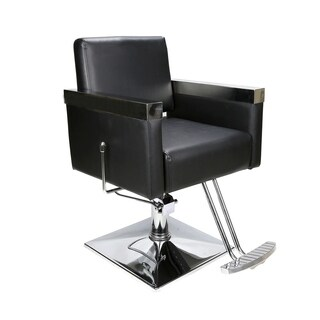 BarberPub Classic Hydraulic Barber Chair Salon Spa Styling Equipment (2 options available)